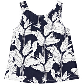 Roxy Fine With You Printed Top sin Mangas Mujer, mood indigo flying flowers